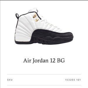"""Air Jordan 12 BG """"TAXI"""""""